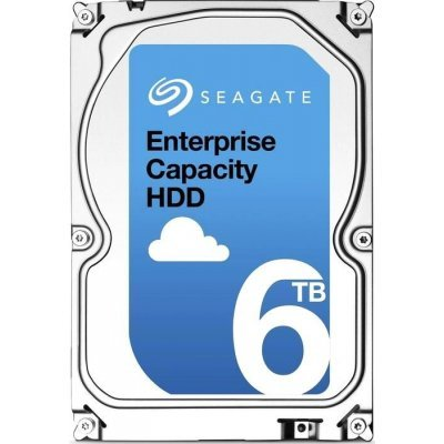 Жесткий диск серверный Seagate ST6000NM0095 (ST6000NM0095)Жесткие диски серверные Seagate<br>HDD SAS Seagate 6000Gb (6Tb), ST6000NM0095, Enterprise Capacity 3.5, SAS 12Гбит/с, 7200 rpm, 256Mb buffer<br>