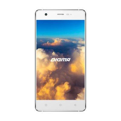 Смартфон Digma VOX S503 4G 16Gb белый/серебристый (VS5008ML white/silver)Смартфоны Digma<br>Смартфон Digma S503 4G VOX 16Gb белый/серебристый моноблок 3G 4G 2Sim 5 720x1280 Android 6.0 8Mpix WiFi BT GPS GSM900/1800 GSM1900 TouchSc MP3 A-GPS microSDHC max128Gb<br>