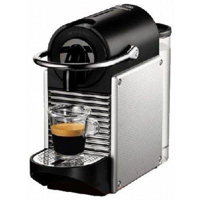 Кофеварка Delonghi Nespresso EN 125.S Pixie серебристый (EN 125.S)Кофеварки Delonghi<br>Кофеварка DeLonghi Nespresso EN 125.S<br>