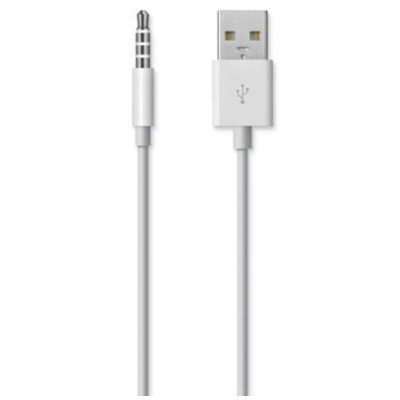 Кабель USB Apple MC003ZM/A для iPod Shuffle MC003ZM/A (MC003ZM/A) mp3 плеер apple ipod shuffle 4g 2gb pink md773rp a