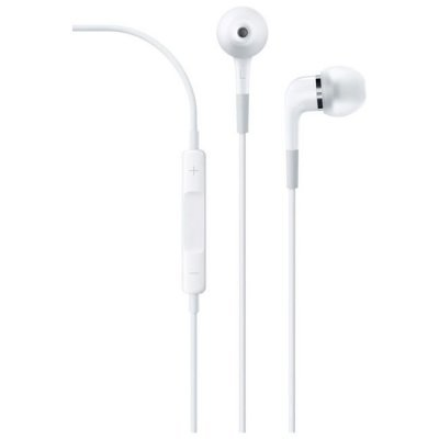все цены на Наушники Apple In-Ear Headphones with Remote and Mic (ME186ZM/A) (ME186ZM/B) онлайн