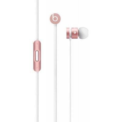 Наушники Beats urBeats In-Ear розовое золото (MLLH2ZE/A)Наушники Beats<br>вставные наушники (затычки) с микрофоном, поддержка iPhone, разъём mini jack 3.5 mm, длина провода 1.2 м, вес 18 г, сменные амбушюры<br>
