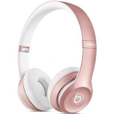 Bluetooth-гарнитура Beats Solo2 Wireless розовое золото (MLLG2ZE/A)Bluetooth-гарнитуры Beats<br>стерео Bluetooth-гарнитура, голосовой набор, зарядка от USB, вес 205 г, разъем для наушников 3.5 мм<br>