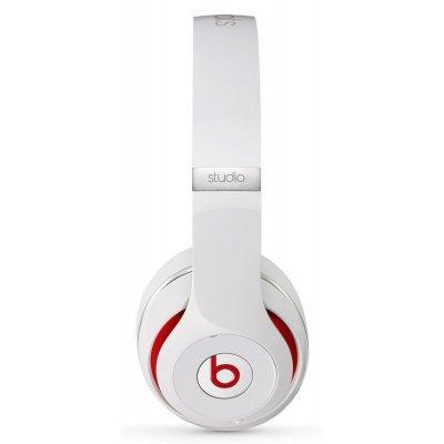 Bluetooth-гарнитура Beats Studio 2 белый (MH7E2ZE/A)Bluetooth-гарнитуры Beats<br>тип соединения: проводные; акустический тип: закрытые; тип амбушюр: мониторы<br>