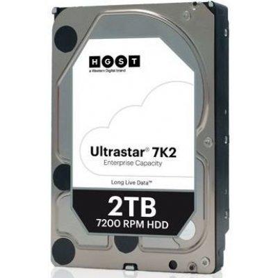 Жесткий диск серверный Hitachi 1W10002 (1W10002)Жесткие диски серверные Hitachi<br>Жесткий диск SATA 2TB 7200RPM 6GB/S 128MB 7K2 1W10002 HGST<br>