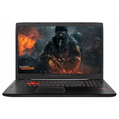 Ноутбук ASUS GL702VM (90NB0DQ1-M01180) (90NB0DQ1-M01180)Ноутбуки ASUS<br>Asus GL702VM i7-6700HQ 12Gb 1Tb + SSD 128Gb nV GTX1060 6Gb 17,3 FHD IPS BT Cam 4240мАч Win10 Черный 90NB0DQ1-M01180<br>