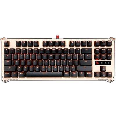 Клавиатура A4Tech Bloody B830 золотистый/черный (B830)Клавиатуры A4-Tech<br>Клавиатура A4 Bloody B830 золотистый/черный USB Gamer LED<br>