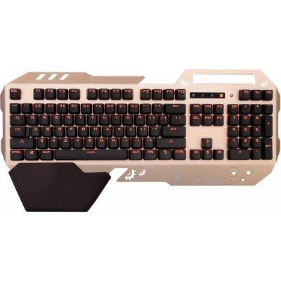 Клавиатура A4Tech Bloody B860 золотистый/коричневый (B860)Клавиатуры A4-Tech<br>Клавиатура A4 Bloody B860 золотистый/коричневый USB Multimedia Gamer LED (подставка для запястий)<br>