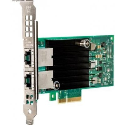 Сетевая карта для сервера Intel X550-T2 X550T2BLK PCIE 10GB DUAL PORT (X550T2BLK940136) сетевая карта dell x540 dp 10gb bt i350 dp 1gb 540 11137 1