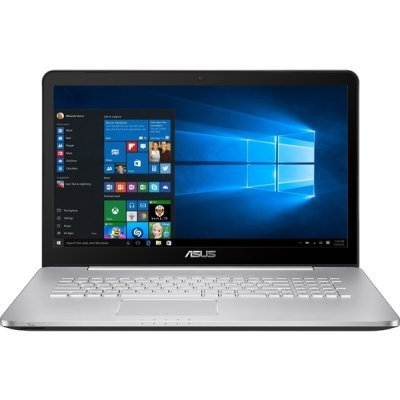 Ноутбук ASUS VivoBook N752VX-GB273T (90NB0AY1-M03300) (90NB0AY1-M03300)Ноутбуки ASUS<br>(UHD DISPLAY) Core i7 6700HQ/12Gb/HDD 2Tb+128Gb SSD/17.3UHD IPS AG(3840X2160 )/DVD-RW/nVidia GeForce GTX 950M 4Gb/WiFi/BT/Cam//Windows 10 Home/3.17Kg<br>