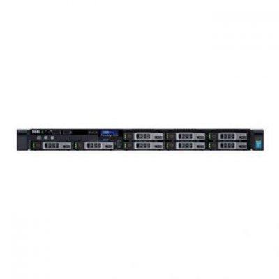 Сервер Dell PowerEdge R330 (R330-AFEV-03T) (R330-AFEV-03T)Серверы Dell<br>1U no HDD caps/ no CPU(E3-1200v5)/ HS/ no memory(4)/ no controller/ noHDD(8)SFF HotPlug/ DVDRW/ iDRAC8 Ent/ 2xGE/ noRPS(2up)/ Bezel/ Static Rails/PCI-E:1xF+1xL/ 3YBWNBD (210-AFEV)<br>