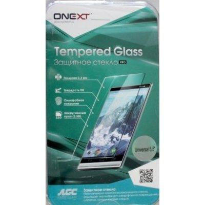 """Пленка защитная для смартфонов Onext для дисплеев 5,5"""" универсальная (Защитное стекло) (40964)"""