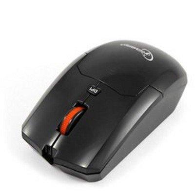 Мышь Gembird MUSW-212 черный (MUSW-212)Мыши Gembird<br>Мышь беспров. Gembird MUSW-212, черн, 3кн.+колесо-кнопка, 2.4ГГц, 1600 dpi<br>