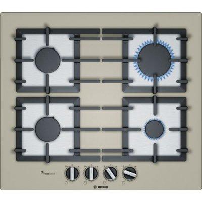 Газовая варочная панель Bosch PPP6A8B90 кварцевый металлик (PPP6A8B90), арт: 249845 -  Газовые варочные панели Bosch