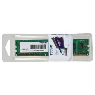 Модуль оперативной памяти ПК Patriot PSD38G16002 (PSD38G16002)Модули оперативной памяти ПК Patriot<br>Модуль памяти 8GB PC12800 DDR3 PSD38G16002 PATRIOT<br>