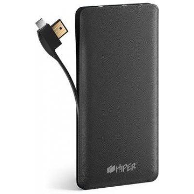 Внешний аккумулятор для портативных устройств HIPER SPS8500 черный (SPS8500BLACK) внешний аккумулятор elari powercard черный