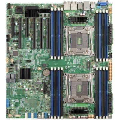 Материнская плата сервера Intel DBS2600CW2R (DBS2600CW2R943803)Материнские плата серверов Intel<br>Серверная материнская плата S2600CW2R S2011-3 DBS2600CW2R 943803 INTEL<br>
