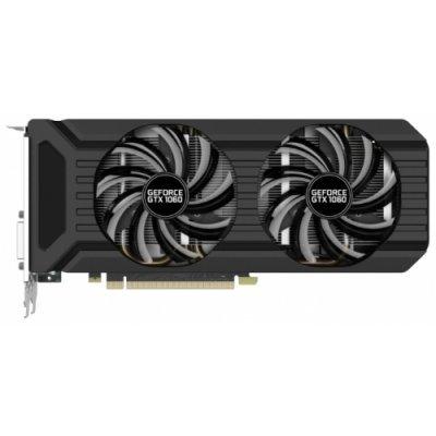 Видеокарта ПК Palit GeForce GTX 1060 1506Mhz PCI-E 3.0 6144Mb 8000Mhz 192 bit DVI HDMI HDCP (NE51060015J9-1061D)