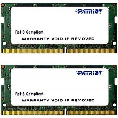 Модуль оперативной памяти ПК Patriot PSD432G2133SK (PSD432G2133SK)Модули оперативной памяти ПК Patriot<br>Модуль памяти для ноутбука 32GB PC17000 DDR4 SO KIT2 PSD432G2133SK PATRIOT<br>