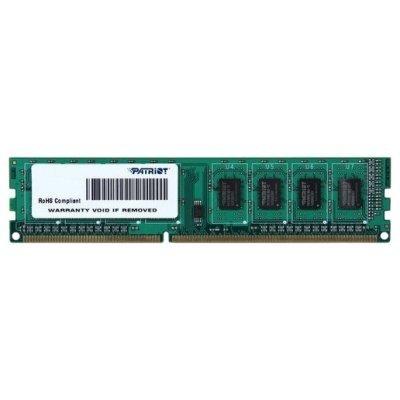 Модуль оперативной памяти ПК Patriot PSD38G1600L2 (PSD38G1600L2)Модули оперативной памяти ПК Patriot<br>Модуль памяти 8GB PC12800 DDR3L PSD38G1600L2 PATRIOT<br>