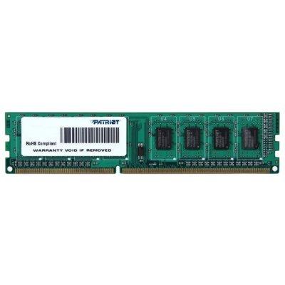 Модуль оперативной памяти ПК Patriot PSD34G1600L81 (PSD34G1600L81)Модули оперативной памяти ПК Patriot<br>Модуль памяти 4GB PC12800 DDR3L PSD34G1600L81 PATRIOT<br>