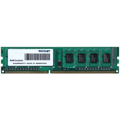 Модуль оперативной памяти ПК Patriot PSD34G160081 (PSD34G160081) ddr3 8192mb2 4096mb kit pc12800 1600mhz patriot heatshield psd38g1600kh