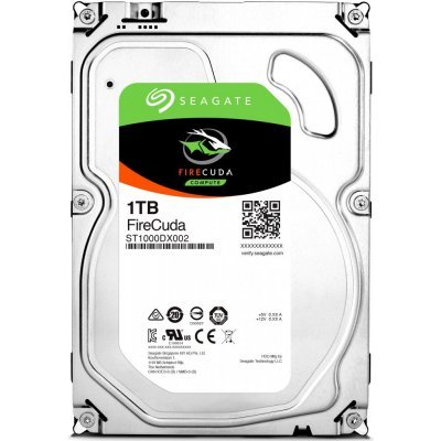 Жесткий диск ПК Seagate ST1000DX002 (ST1000DX002)Жесткие  диски ПК Seagate<br>жесткий диск для настольного компьютера линейка FireCuda 3.5 объем 1000 Гб форм-фактор 3.5 интерфейс SATA 6Gb/s<br>