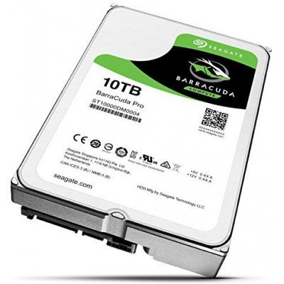 Жесткий диск ПК Seagate ST10000DM0004 (ST10000DM0004)Жесткие  диски ПК Seagate<br>Жесткий диск SATA 10TB 7200RPM 6GB/S 256MB ST10000DM0004 SEAGATE<br>