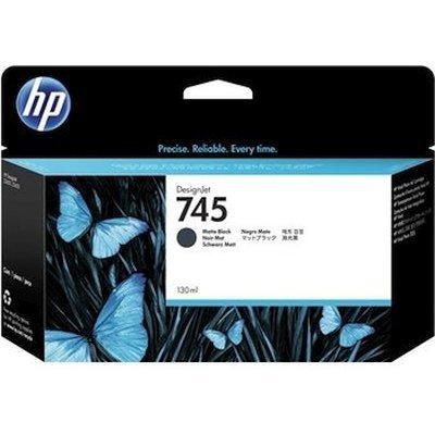 Картридж для струйных аппаратов HP 745 черный матовый F9J99A (F9J99A)Картриджи для струйных аппаратов HP<br>для HP DesignJet, 130ml<br>