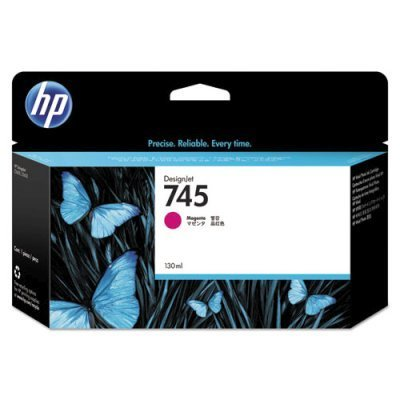 Картридж для струйных аппаратов HP 745 пурпурный F9J95A (F9J95A)Картриджи для струйных аппаратов HP<br>для HP DesignJet, 130ml<br>