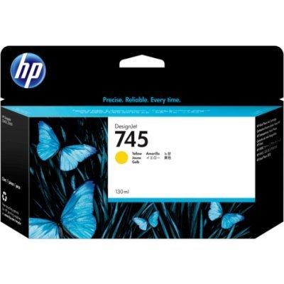Картридж для струйных аппаратов HP 745 желтый F9J96A (F9J96A)Картриджи для струйных аппаратов HP<br>для HP DesignJet, 130ml<br>