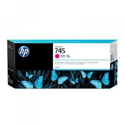 Картридж для струйных аппаратов HP 745 пурпурный F9K01A (F9K01A)Картриджи для струйных аппаратов HP<br>для HP DesignJet, 300ml<br>