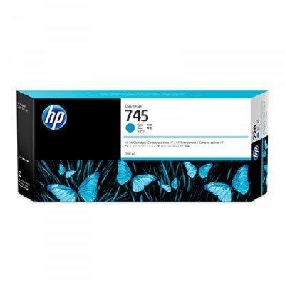 Картридж для струйных аппаратов HP 745 голубой F9K03A (F9K03A)Картриджи для струйных аппаратов HP<br>для HP DesignJet, 300ml<br>