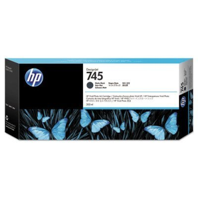 Картридж для струйных аппаратов HP 745 черный F9K05A (F9K05A)Картриджи для струйных аппаратов HP<br>матовый для HP DesignJet, 300ml<br>