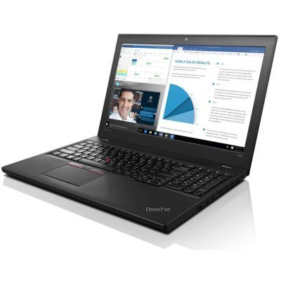 Ноутбук Lenovo ThinkPad T560 (20FHS0M800) (20FHS0M800)Ноутбуки Lenovo<br>15.6FHD(1920x1080)IPS,i7-6500U(2,5GHz),8GB,256GbSSD,HD Graphics 520,no DVDRW,WiFi,TPM,BT,FPR,cam,3+3Cell,WWAN ready,Win10Pro, 2kg,3y.OS<br>