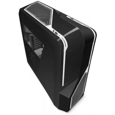 Корпус системного блока NZXT Phantom 410 Black/white (CA-PH410-B2)Корпуса системного блока NZXT<br>Корпус NZXT CA-PH410-B2, Черный с белыми вставками, ATX, без БП, windows, 2x USB 3.0, 2x USB 2.0, 215 x 516 x 532 mm<br>