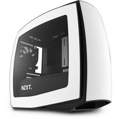 Корпус системного блока NZXT Manta White (CA-MANTW-W1)Корпуса системного блока NZXT<br>компьютерный корпус Midi-Tower без блока питания форм-фактор mATX спереди: USB x2, наушн., микр. габариты: 245x426x450 мм вес 7.2 кг<br>