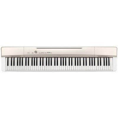 Клавишный музыкальный инструмент Casio PX-160GD (PX-160GD)Клавишные музыкальные инструменты Casio<br>Цифровое фортепиано Casio PX-160GD золотистый<br>