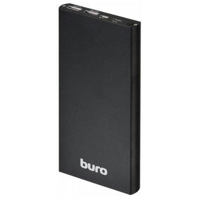 Внешний аккумулятор для портативных устройств Buro RA-12000-AL черный (RA-12000-AL-BK)Внешние аккумуляторы для портативных устройств Buro<br>аккумулятор емкостью 12000 мАч максимальный ток 2.1 А два разъема USB<br>