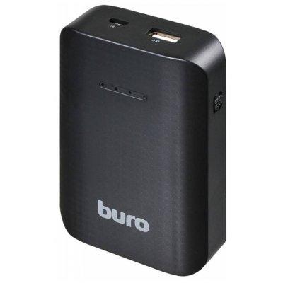 Внешний аккумулятор для портативных устройств Buro RC-7500 (RC-7500)Внешние аккумуляторы для портативных устройств Buro<br>аккумулятор емкостью 7500 мАч максимальный ток 1 А разъем USB вес 172 г<br>