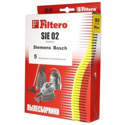 Пылесборник для пылесоса Filtero SIE 02 Standard (5) (SIE 02 (5) STANDARD)Пылесборники для пылесосов Filtero<br>Пылесборники Filtero SIE 02 Standard двухслойные<br>