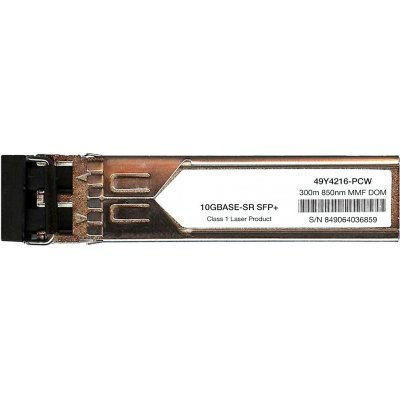 Трансивер Lenovo SFP+ SR Optical (49Y4216) (49Y4216)Трансиверы Lenovo<br>Трансивер Lenovo SFP+ SR Optical (49Y4216)<br>