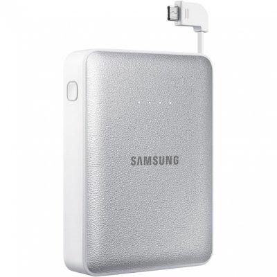 Внешний аккумулятор для портативных устройств Samsung EB-PG850B (EB-PG850BSRGRU)Внешние аккумуляторы для портативных устройств Samsung<br>Мобильный аккумулятор Samsung EB-PG850B 8400mAh 2A серый/белый 2xUSB<br>