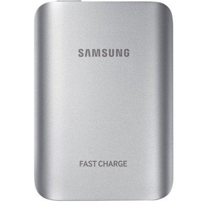 Внешний аккумулятор для портативных устройств Samsung EB-PG930BSRGRU (EB-PG930BSRGRU)Внешние аккумуляторы для портативных устройств Samsung<br>Мобильный аккумулятор Samsung EB-PG930BSRGRU Li-Ion 5100mAh 2A серебристый 1xUSB<br>