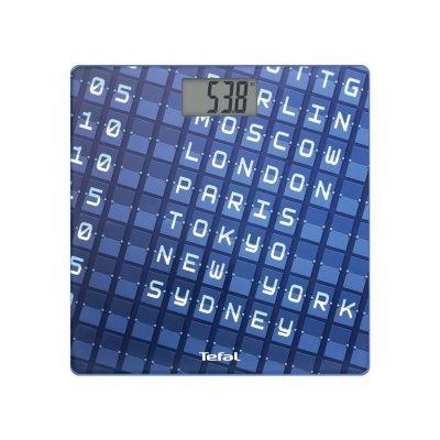 Весы Tefal PP2100V0 синий (2100095168)Весы Tefal<br>Весы напольные электронные Tefal PP2100V0 макс.160кг синий<br>