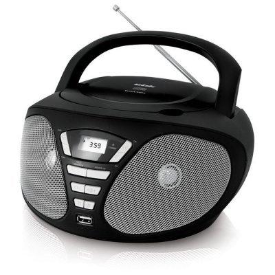 Аудиомагнитола BBK BX180U черный/серый (BBK BX180U черный/серый) пилинг organic shop пилинг для тела сочная папайа 2 шт