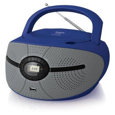 Аудиомагнитола BBK BX195U голубой/серый (BBK BX195U голубой/серый), арт: 250281 -  Аудиомагнитолы BBK