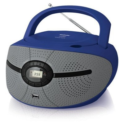 цена на Аудиомагнитола BBK BX195U голубой/серый (BBK BX195U голубой/серый)
