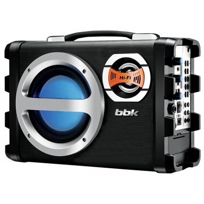 Аудиомагнитола BBK BS05BT черный (BS05BT черный)Аудиомагнитолы BBK<br>Аудиомагнитола BBK BS05BT черный<br>