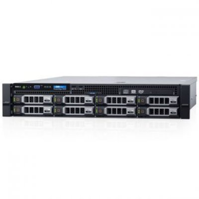 Сервер Dell PowerEdge R530 (210-ADLM-42) (210-ADLM-42)Серверы Dell<br>Сервер Dell PowerEdge R530 1xE5-2609v4 1x8Gb 2RRD x8 1x1Tb 7.2K 3.5 SATA RW H330 iD8En 5720 4P 1x750W 39M NBD (210-ADLM-42)<br>